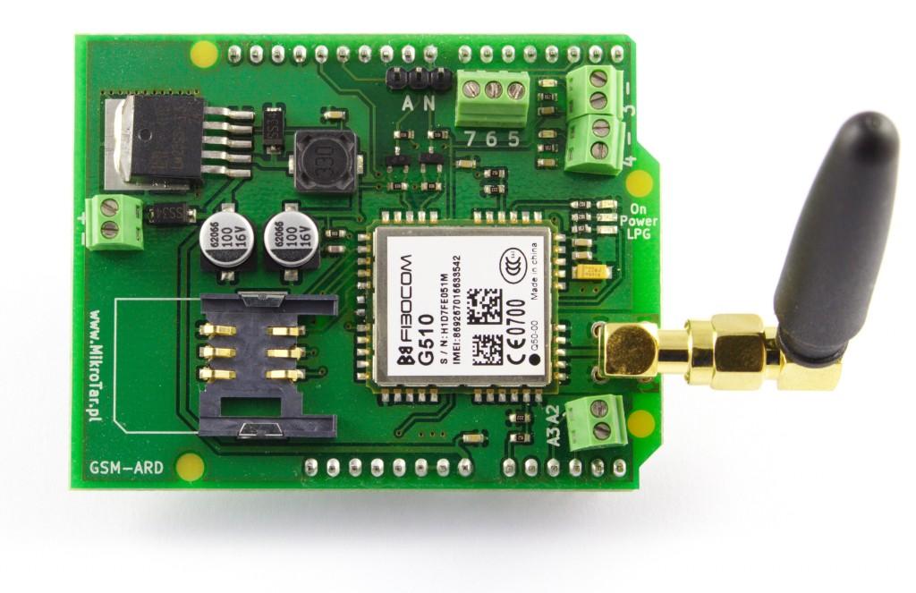 Moduł GSM Arduino - 4