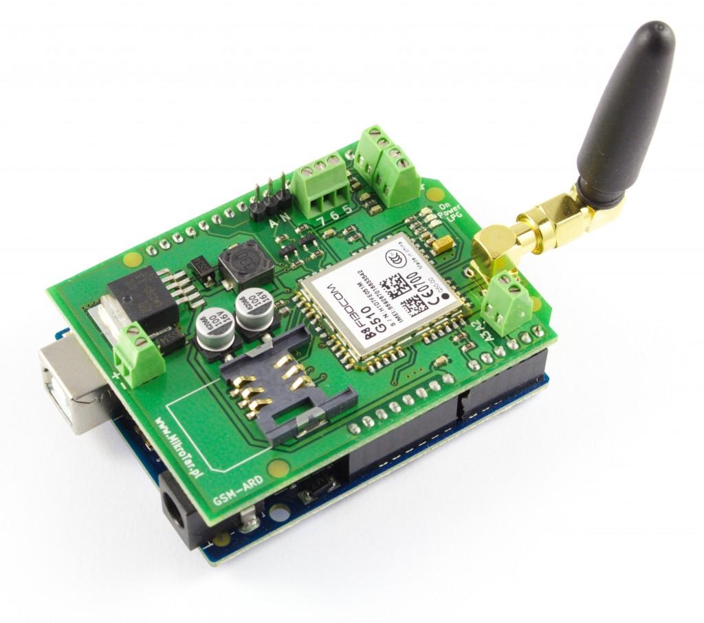 Moduł GSM Arduino + Arduino UNO - 1