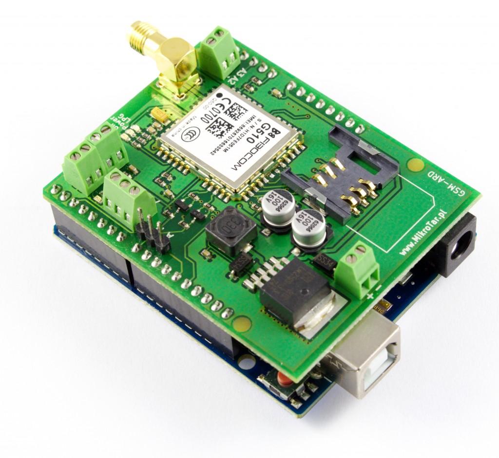 Moduł GSM Arduino + Arduino UNO - 2