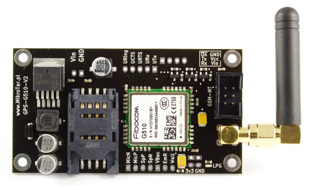 Moduł GSM G510-V2-MT-opis